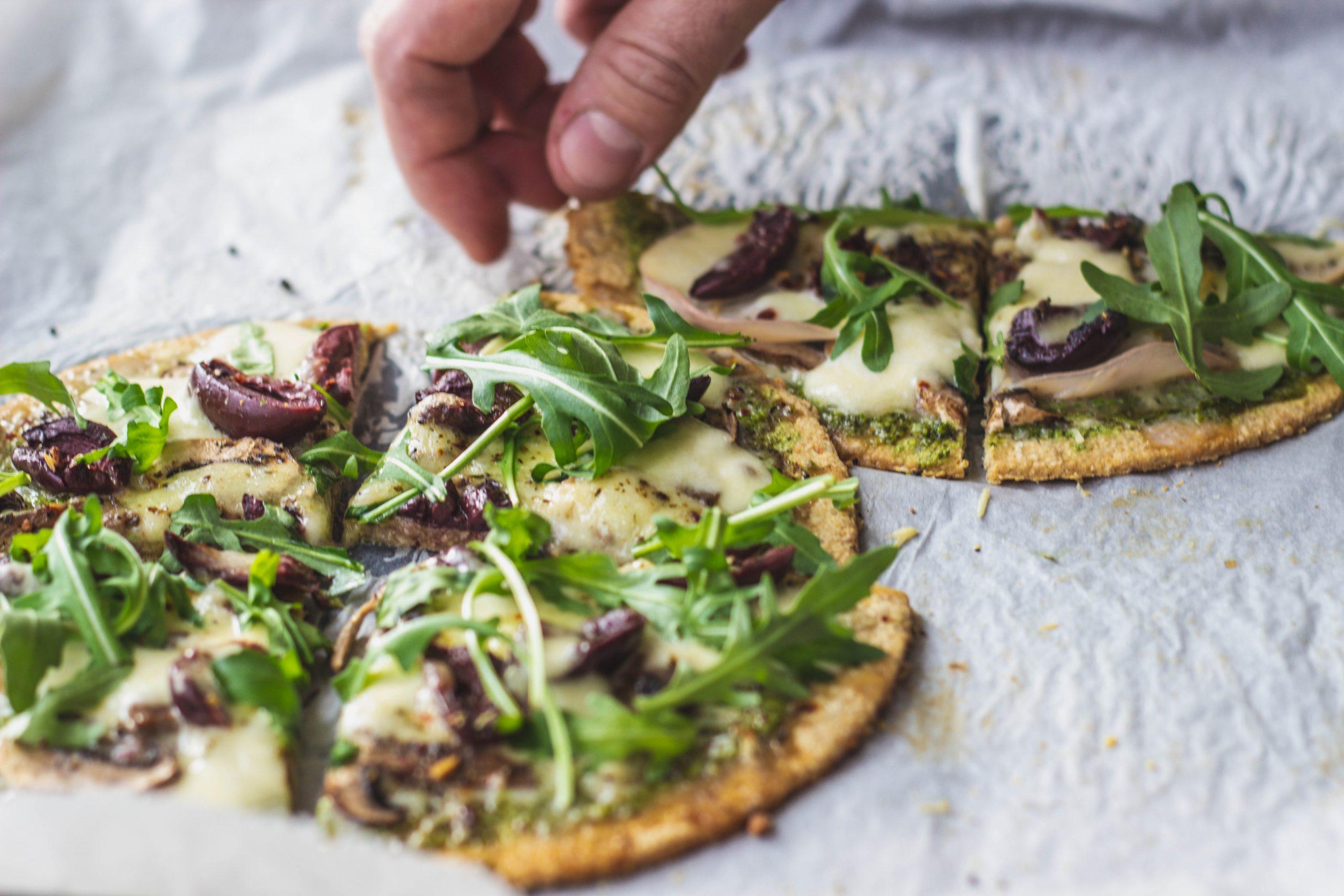 Avižinė pica