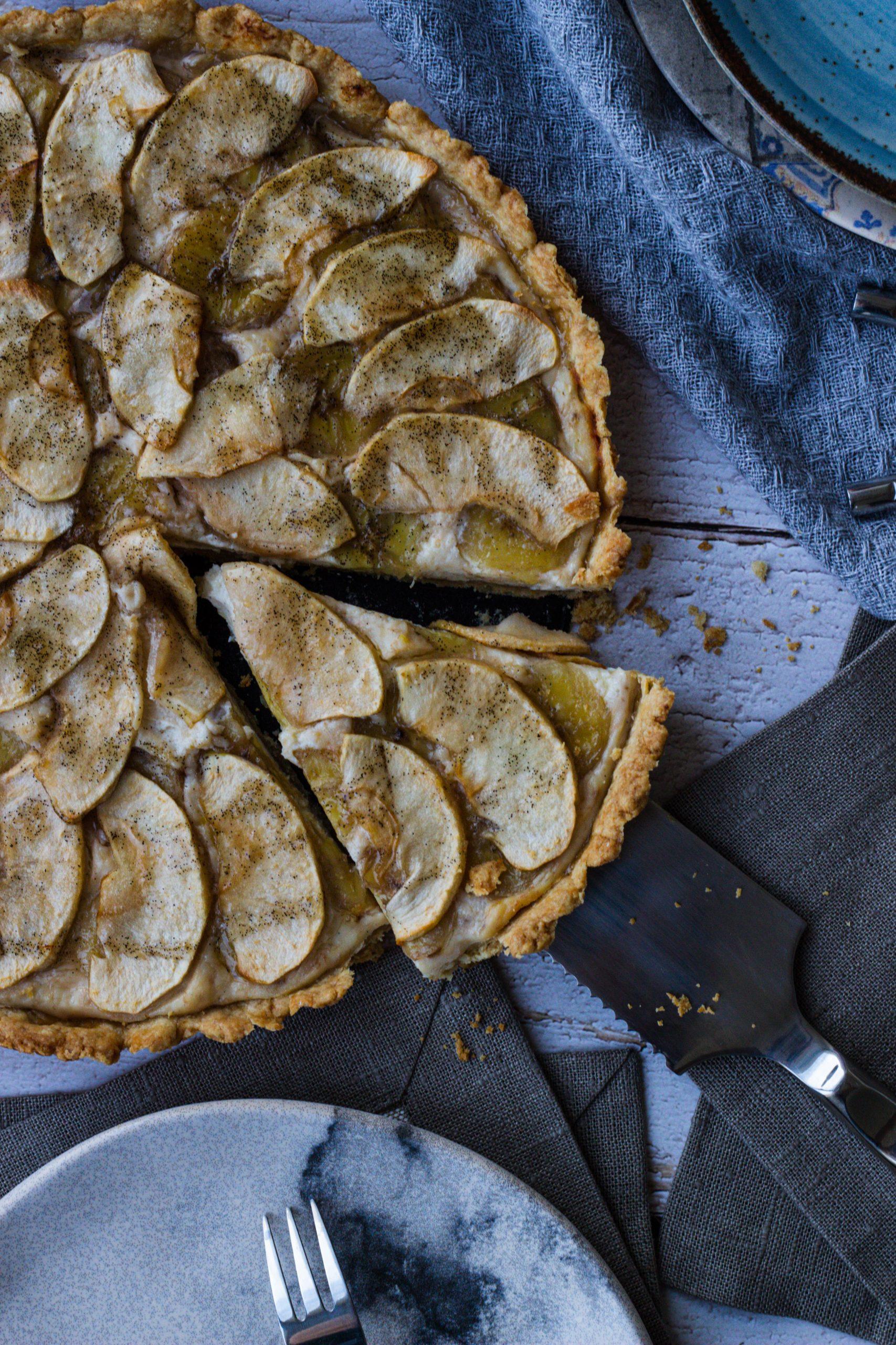 Bananų ir obuolių tartas