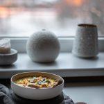 Kokosinė avinžirnių ir batatų kario sriuba